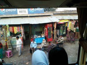 สภาพร้านค้าในพุทธคยา